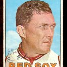 BOSTON RED SOX DON McMAHON 1967 TOPPS # 7 G/VG