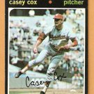 WASHINGTON SENATORS CASEY COX 1971 TOPPS # 82 G/VG