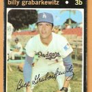 LOS ANGELES DODGERS BILLY GRABARKEWITZ 1971 TOPPS # 85 G/VG