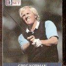 GREG NORMAN 1990 PRO SET PGA TOUR CARD # 50