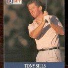 TONY SILLS 1990 PRO SET PGA TOUR CARD # 2
