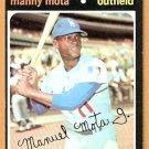 LOS ANGELES DODGERS MANNY MOTA 1971 TOPPS # 112 NR MT