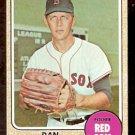 BOSTON RED SOX DAN OSINSKI 1968 TOPPS # 331 NR MT