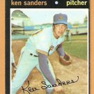 MILWAUKEE BREWERS KEN SANDERS 1971 TOPPS # 116 NR MT OC