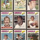 1977 TOPPS CALIFORNIA ANGELS  TEAM LOT 25 BOBBY BONDS BAYLOR RUDI REMY ++