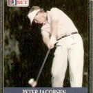 PETER JACOBSEN 1990 PRO SET PGA TOUR CARD # 19