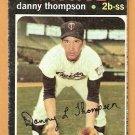 MINNESOTA TWINS DANNY THOMPSON 1971 TOPPS # 127 good