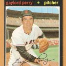 SAN FRANCISCO GIANTS GAYLORD PERRY 1971 TOPPS # 140 EM/NM