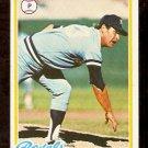 KANSAS CITY ROYALS MARTY PATTIN 1978 TOPPS # 218 EX