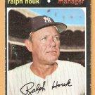 NEW YORK YANKEES RALPH HOUK 1971 TOPPS # 146 VG