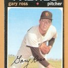 SAN DIEGO PADRES GARY ROSS 1971 TOPPS # 153 VG/EX