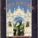 1988 SUPER BOWL XXII PROGRAM WASHINGTON REDSKINS vs DENVER BRONCOS