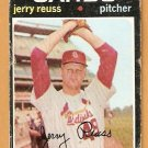 ST LOUIS CARDINALS JERRY REUSS 1971 TOPPS # 158 fair/good