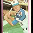 ATLANTA BRAVES BARRY BONNELL 1978 TOPPS # 242 VG