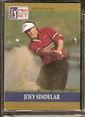 JOEY SINDELAR 1990 PRO SET PGA TOUR CARD # 41