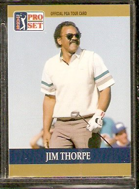 JIM THORPE 1990 PRO SET PGA TOUR CARD # 43
