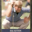 HAL SUTTON 1990 PRO SET PGA TOUR CARD # 49