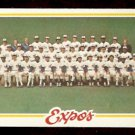 MONTREAL EXPOS TEAM CARD 1978 TOPPS # 244 marked cl