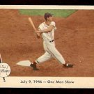 1959 FLEER TED WILLIAMS # 27 ONE MAN SHOW NM BOSTON RED SOX