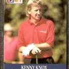 KENNY KNOX 1990 PRO SET PGA TOUR CARD # 55