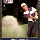 DAVID PEOPLES 1990 PRO SET PGA TOUR CARD # 57