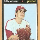 PHILADELPHIA PHILLIES BILLY WILSON 1971 TOPPS # 192 good
