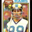 LOS ANGELES RAMS FRED DRYER 1979 TOPPS # 453 EX