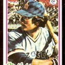 SEATTLE MARINERS DAVE COLLINS 1978 TOPPS # 254 EX/EM
