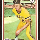 PITTSBURGH PIRATES JERRY REUSS 1978 TOPPS # 255 VG