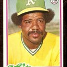 OAKLAND ATHLETICS TIM HOSLEY 1978 TOPPS # 261 EM