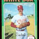 CHICAGO WHITE SOX SKIP PITLOCK 1975 TOPPS # 579 VG