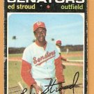 WASHINGTON SENATORS ED STROUD 1971 TOPPS # 217 good