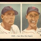 1959 FLEER TED WILLIAMS # 37 SOX MISS OUT AGAIN G/VG BOSTON RED SOX