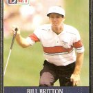 BILL BRITTON 1990 PRO SET PGA TOUR CARD # 72