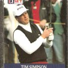TIM SIMPSON 1990 PRO SET PGA TOUR CARD # 75