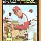 PHILADELPHIA PHILLIES LARRY BOWA 1971 TOPPS # 233 good