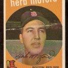BOSTON RED SOX HERB MOFORD 1959 TOPPS # 91 fair/good