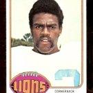 DETROIT LIONS LEVI JOHNSON 1976 TOPPS # 433 EX/EM