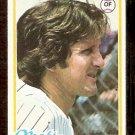 NEW YORK METS BRUCE BOISCLAIR 1978 TOPPS # 277 VG+/EX