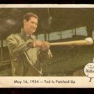 1959 FLEER TED WILLIAMS # 51 TED IS PATCHED UP fair BOSTON RED SOX