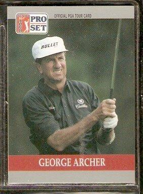 GEORGE ARCHER 1990 PRO SET PGA TOUR CARD # 85
