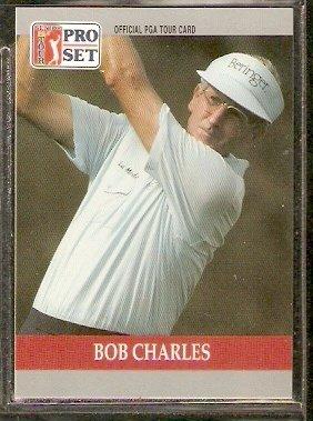 BOB CHARLES 1990 PRO SET PGA TOUR CARD # 88