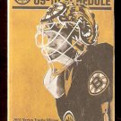 BOSTON BRUINS 2009 - 10 POCKET SCHEDULE TIM THOMAS