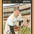 HOUSTON ASTROS JIM RAY 1971 TOPPS # 242 fair/good