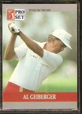 AL GEIBERGER 1990 PRO SET PGA TOUR CARD # 95