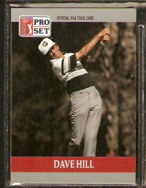 DAVE HILL 1990 PRO SET PGA TOUR CARD # 96
