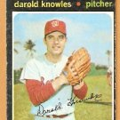 WASHINGTON SENATORS DAROLD KNOWLES 1971 TOPPS # 261 good
