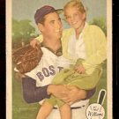1959 FLEER TED WILLIAMS # 64 DAUGHTER AND FAMOUS DADDY good BOSTON RED SOX