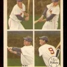 1959 FLEER TED WILLIAMS # 65 AUGUST 30, 1958 BOSTON RED SOX