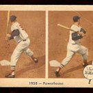 1959 FLEER TED WILLIAMS # 66 1958 – POWERHOUSE good BOSTON RED SOX